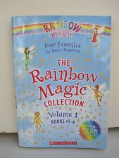 Rainbow Magic Collection Volume 1 Books #1-4 by Daisy Meadows