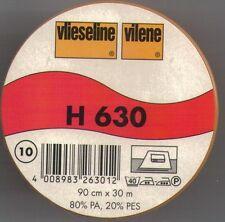 PELLON H630 VILENE VISELINE LIGHT FUSIBLE VOLUME FLEECE 1/2 METER X 90CM BATTING