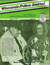 Spring 1976 Wisconsin Police Journal WPPA