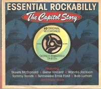 ESSENTIAL ROCKABILLY THE CAPITOL STORY - 2 CD BOX SET - TOMMY SANDS & MORE