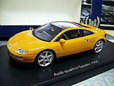 "Audi estudio prototipo ""quattro Spyder"" 1991 naranja resin bos 1:43"