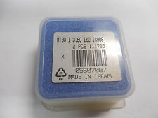 Iscar Mt30 I 3.50 Iso Ic908 5607087 Carbide Thread Milling Inserts Qty. 2
