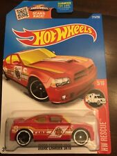 HOT WHEELS 2016 TREASURE HUNT #5/10  DODGE  CHARGER  SRT8