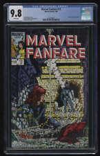 Marvel Fanfare #12 CGC 9.8 W Pgs Marvel Comics Iron Maiden