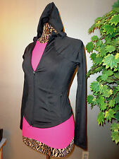 BILL BRASS WOMENS ATHLETIC TOP JACKET sz S/M 2-8 GOOD COND $89 CUTE/SEXY L@@K!!!