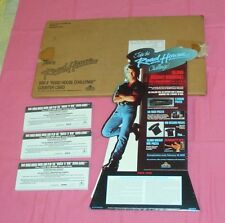 vintage ROADHOUSE video store counter display small standee Patrick Swayze