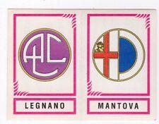 figurina CALCIATORI PANINI 1982/83 NEW numero 576 LEGNANO MANTOVA