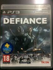 DEFIANCE PS3 GAME - VERY GOOD CONDITION - COMPLETE WITH INSTRUCTIONS