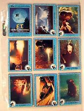 88 Cards Set E.T. EXTRA-TERRESTRIAL in Plastic Pages