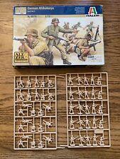 ITALERI GERMAN Afrikakorps  WORLD WAR II 1:72 SCALE MODEL SOLDIERS WW2
