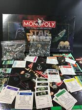 VTG 1996 Star Wars Limited Edition Monopoly Complete with Brass Coins