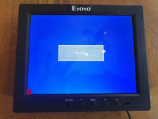 "Eyoyo Portable 8"" IPS LCD Monitor HDMI FHD 4:3 Security 178° Built-In Speakers"