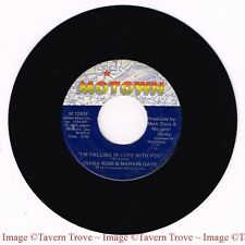 "MOTOWN M 1280F Diana Ross Marvin Gaye ‎You're A Special Part Of Me VG/VG+ 7"" 45"