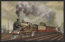 Railways, N.B.R., No 898 Sir Walter Scott, Eric Oldham. Postcard. (3628)