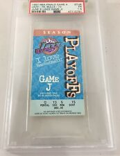 1997 Nba Finals Game 4 Ticket Jazz Bulls Psa 1.5 Pop 1 Michael Jordan Game J