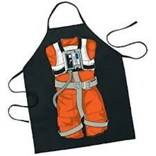 Star Wars Luke Skywalker X-Wing Pilot Bbq Party Apron Gift UK