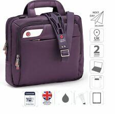 "13.3"" Surface Pro Mac Book Air Laptop iPad Bag Briefcase Purple is0127"