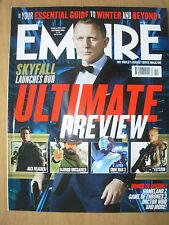 EMPIRE FILM MAGAZINE No 280 OCTOBER 2012 DANIEL CRAIG - SKYFALL