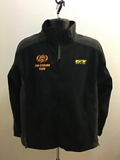 GT Bikes Jelly Belly Pro Cycling Team Men Jacket Size Medium Black Color SXS