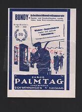 SCHWENNINGEN, Werbung 1927, Jakob Palmtag Uhren-Fabrik