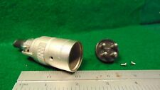 (1) Cannon EP-4-12-1C 4 Pin Male Audio Loudspeaker Plug NOS.