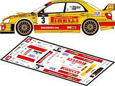 DECALS 1/43 SUBARU IMPREZA WRC - #3 - MEEKE - RALLYE ULSTER 2007 - D43149