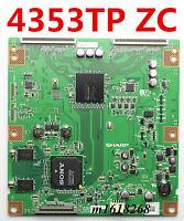 SHARP T-Con Board CPWBX RUNTK 4353TP ZC  SONY KDL-52EX700 LK520D3LB1S and ETC...