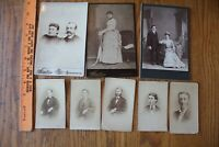 Cabinet Card Lot of Antique Photographs Late 1800s B. Saylor & Co Lancaster PA