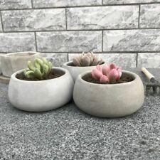 Concrete Flower Pot Molds Succulent Plant Pots Mold For Home & Garden Decoration