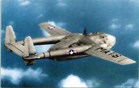 Fairchild C-82A Packet WW2 Transport Airplane Military Chrome Postcard 102