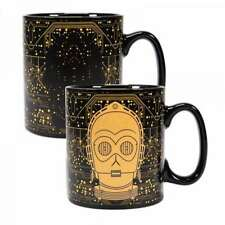 OFFICIAL STAR WARS C3PO DRIOD HEAT CHANGING MAGIC COFFEE MUG NEW IN GIFT BOX