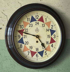"""RAF Royal Air Force Sector Clock Large 16"""" WW2 1940 Battle of Britain Fine repro"""