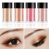 8 Farben Make-up Glitter Lidschatten Schimmer Pigment Lose Pulver Cosmetic