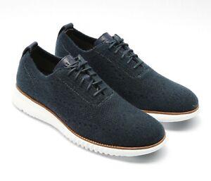 Cole Haan 2.Zerogrand Stitchlite Oxford - Blueberry Wool, Size 10 M [C33496]