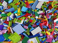LEGO Friends Colors Mix 1/4 lb Bulk Lot of Bricks Plates Specialty Parts Pieces