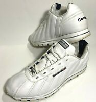 Reebok Mens Classic Oryx Athletic Running Shoes All White Leather Size 10.5