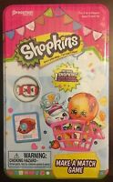 Shopkins Make a Match Game Includes 1 Exclusive Design - New Sealed