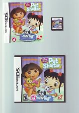 DORA & KAI-LAN'S PET SHELTER - THE EXPLORER - GIRLS DS GAME / LITE DSi 3DS - VGC