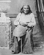 Native American CHIEF SEATTLE Si' ahl Glossy 8x10 Photo Suquamish Tribe Print