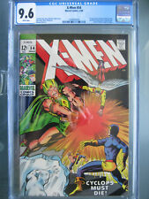 X-Men #54 1st Alex Summers CGC 9.6 Universal **Key Book** Marvel Comics 1969