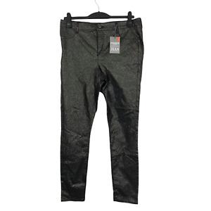Dorothy Perkins Frankie Size 12 EUR 44 Black & Gold Super Skinny Jeans NEW