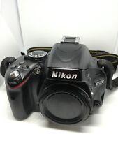 *** NIKON D5100 16.2 MP fotocamera Reflex Digitale-SOLO CORPO NERO *** + 2x Batterie