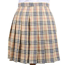 a1e5c401d Lolita Cosplay Japan School Girls Uniform Dress Plaid Pleated Mini Skirt  Pretty