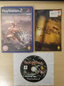 God of War Sony Playstation 2 PS2 PAL Complete with Manual Tested