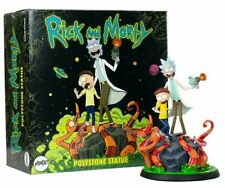 Rick and Morty Polystone Statue by Mondo Sideshow Adult Swim Limited 1000 RARE!