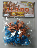 1:32 54mm Alamo Battle Figures PlasticToy Soldier BMC 40022