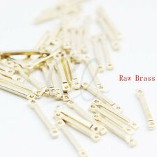 100pcs of Raw Brass Connector - Link - Bar 14x1.2mm (3014C-F-598)