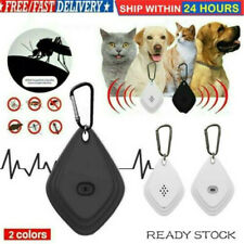 Ultrasonic Mosquito Bug Pest Repellent Repeller Dispeller For Kids Pet Cat Dog