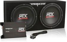 "MTX TNP212D2 1200W Dual 12"" Amplified Terminator Loaded Subwoofer Enclosure"