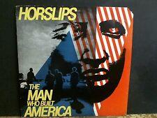 HORSLIPS  The Man Who Built America   LP   Irish Folk Rock     GREAT !!